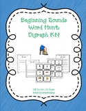 Beginning Sounds Word Hunt/Write the Room: Digraph KN