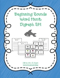 Beginning Sounds Word Hunt/Write the Room: Digraph SH