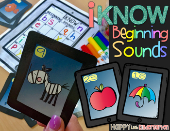 Beginning Sounds: iKnow Beginning Sounds