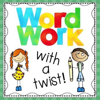 Beginning Sounds Word Work