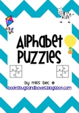 Beginning Sounds Word and Picture Puzzles