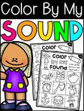 Beginning Sounds Worksheets - Color By My Sound