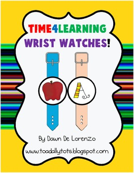 Beginning Sounds Wrist Watches