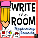 Beginning Sounds (Write The Room)