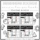 Beginning Sounds Write & Wipe Book - Seasons & Holidays MEGA Bundle -