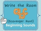 Beginning Sounds Write the Room