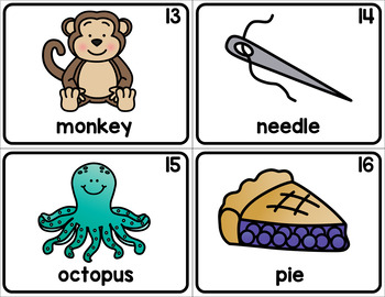 Beginning Sounds - Write the Room Activity