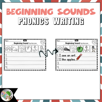 Beginning Sounds Writing Printables