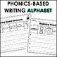 Beginning Sounds Writing Worksheets - Alphabet Writing