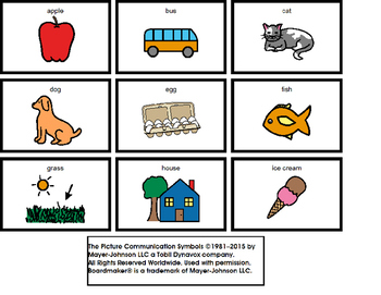Beginning Sounds activity