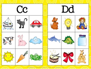 Beginning Sounds and Alphabet Guided Reading Pack