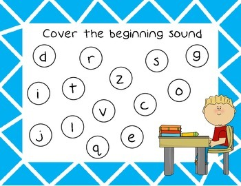 Beginning Sounds and CVC Cover