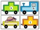 Beginning Sounds and Ending Sounds Train