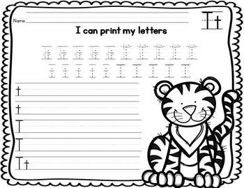 Beginning Sounds and Letter Activities (with Letters C, M, A and T)