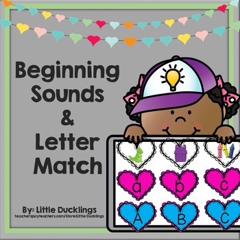 Beginning Sounds and Letter Match