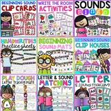 Beginning Sounds and Letter Practice Bundle