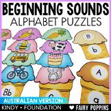 Beginning Sounds Puzzles (Australian)