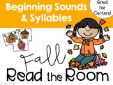 Beginning Sounds and Syllables Fall Read the Room!