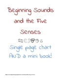 Beginning Sounds and the Five Senses