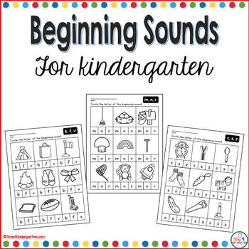 Beginning Sounds for Kindergarten
