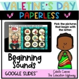 Beginning Sounds for Valentine's Day Drag and Move Pointers