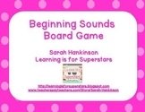 Beginning Sounds {game board and cards}