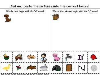 Initial Sounds in CVC Words for Apraxia, Articulation, Phonological Awareness