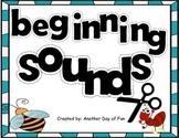 Beginning Sounds -matches the letter order from Kindergarten Reading Street