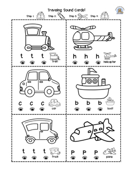 Beginning Sounds- vehicles