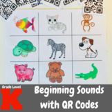 Beginning Sounds with QR Codes