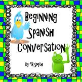 Beginning Spanish Conversation PICTURE Notes Powerpoint