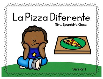 Beginning Spanish Stories - La pizza diferente (2 versions)