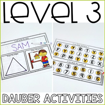 Beginning Special Education Morning Work: August Edition {3 Levels!}