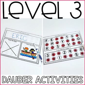 Beginning Special Education Morning Work: July Edition {3 Levels!}
