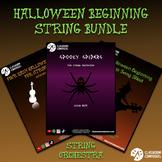 Beginning Strings Halloween Bundle - Sheet music, duets, a
