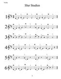 Beginning Strings Slur Studies