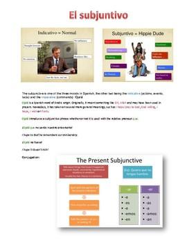 Beginning Subjunctive rules
