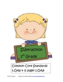 Beginning Subtraction Facts