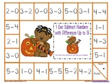 Beginning Subtraction Game Boards--Fall Pack