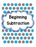 Beginning Subtraction - Kindergarten Envision Topic 8