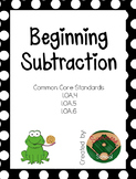 Beginning Subtraction Unit