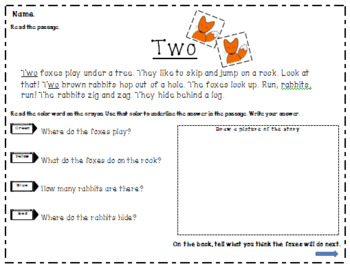 Number Work Text Evidence for Beginners