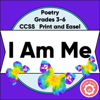"Writing ""I Am Me"" Poetry And Bulletin Board Display"
