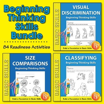Beginning Thinking Skills {Bundle}