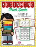 Beginning Third Grade (Back to School NO PREP Math and ELA