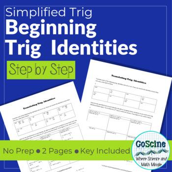 Beginning Trig Identities