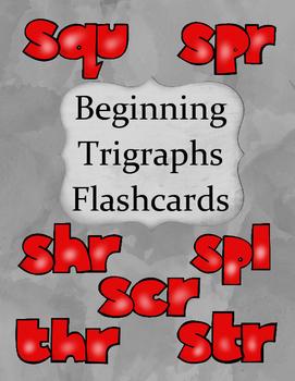 Beginning Trigraphs Flashcards