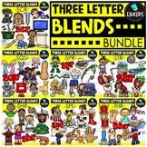 Beginning Trigraphs Clip Art Mega Bundle {Educlips Clipart}