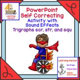 Beginning Trigraphs scr, str, squ  Interactive PowerPoint