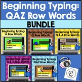 BUNDLE: Beginning Typing Practice INTERNET BOOM CARDS